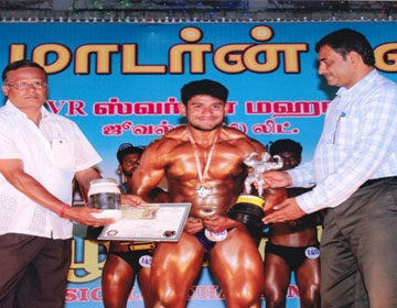 Body Building, on 15 - 17 Sep 2016