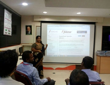Software Testing - Peer Enablement  Programme by Dr.K.Sasikala,<br> on 14  & 15 Feb 2017