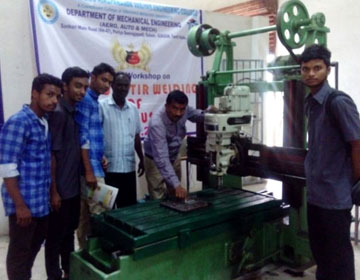 One Day Workshop on Friction Stir Welding of Non Ferrous Metals, organized by Dept of Mech