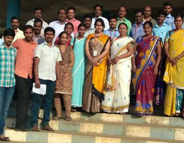 Faculty Development Programme on Teaching Techniques, by Ms. Kalpana Gopal, ICT Academy, Tamilnadu, organized by Dept of CSE, on 15 & 16 Feb 2017