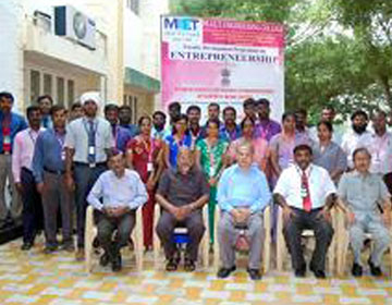 Faculty Development Programme on Entrepreneurship, organized by National Science & Technology Entrepreneurship Development Board (NSTEDB), on 04 Nov 2016 - 17 Nov 2016