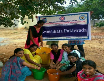 Swachihata Pakhwada - Clean Hostel Day Programme, on 02 Sep 2017