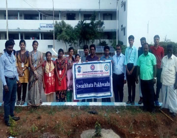 Swachihata Pakhwada - Green Campus Day, on 03 Sep 2017