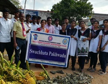 Swachihata Pakhwada - Cleaning Systems in Public Spaces, on 07 Sep 2017