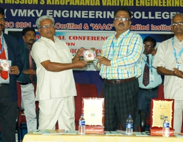 National Conference on Advances in Mechanical Engineering, conducted by Dept of Mech, on 12 Apr 2018