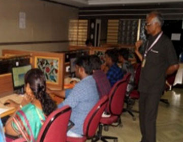"One Day Workshop on ""ANSYS Work Bench"", conducted by Dept of Mech, on 12 Apr 2018"