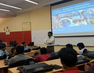 Industrial Visit To Infosys, Chennai, on 20 Sep 2017