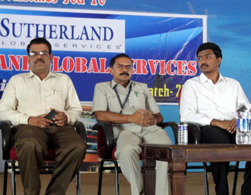 Placement Drive, on 02 Nov 2014 by  Satherland, Chennai