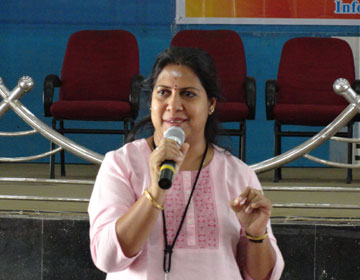 Soft Skill Training to Second & Third Year Students by Mrs.Begi Margaret, Lead Education  & Research  Infosys, Mysore